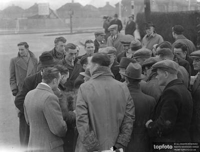 Fairey Aviation strike continues._x000D_ It is