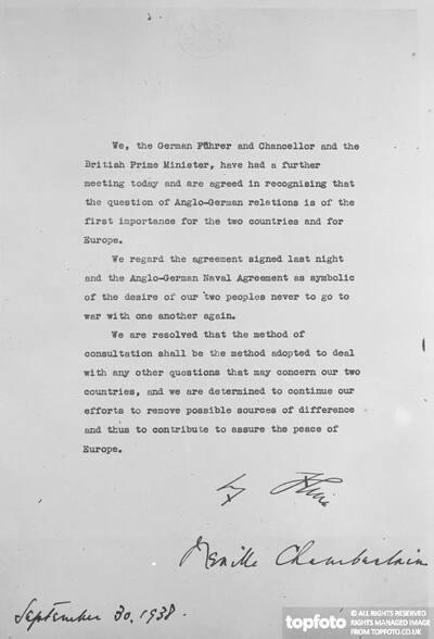 'No more war' declaration signed