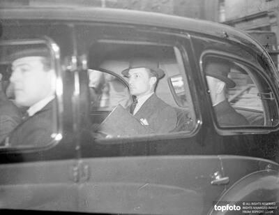 Count Haugwitz Reventlow arrested at