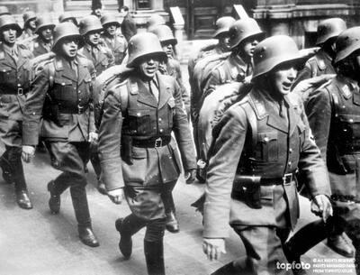 Austrian Legion features in triumph
