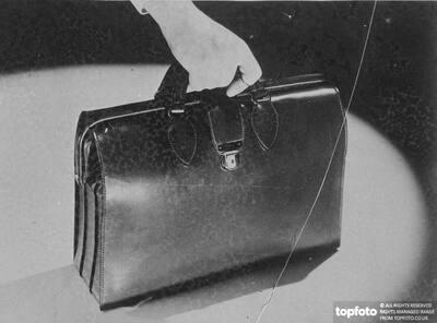 Bag of tricks._x000D_ Carries unpleasant surprises