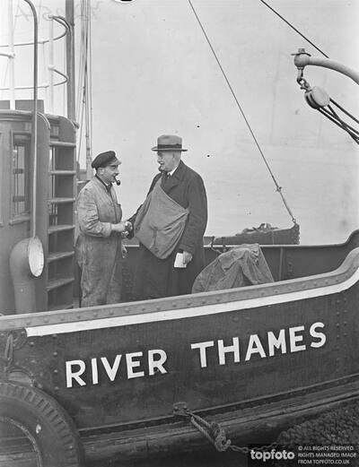 Gravesend's river postman has been