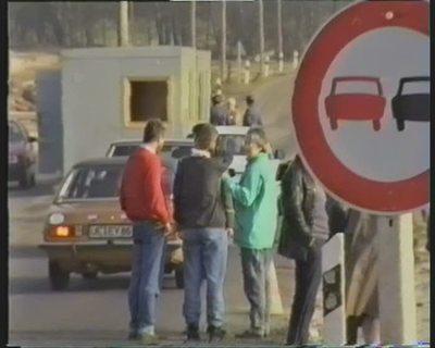 Internationale Jugendgruppe besucht die ehemaligen Grenzanlagen